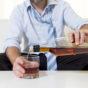 Image of businessman needing alcohol use assessment