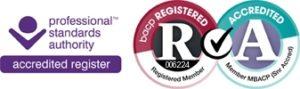 Image BACP registered banner