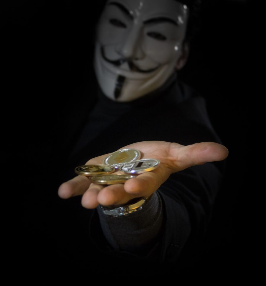 image of man giving money